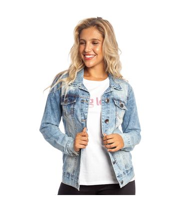 bd565c3f98 Jaqueta Jeans Destroyed Feminino Hang Loose