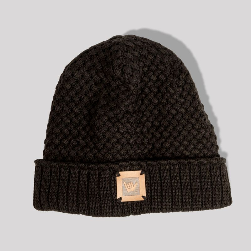 Gorro-Leather